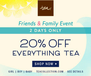 Tea Collection's Friends & Family Sale