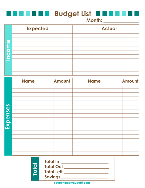 dave ramsey budget worksheets | Plustheapp