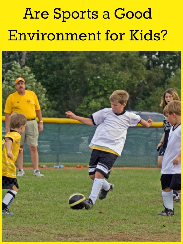 Are Sports a Good Environment for Kids?