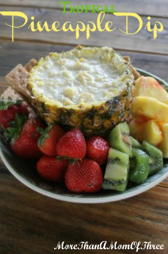 summer pineapple dip