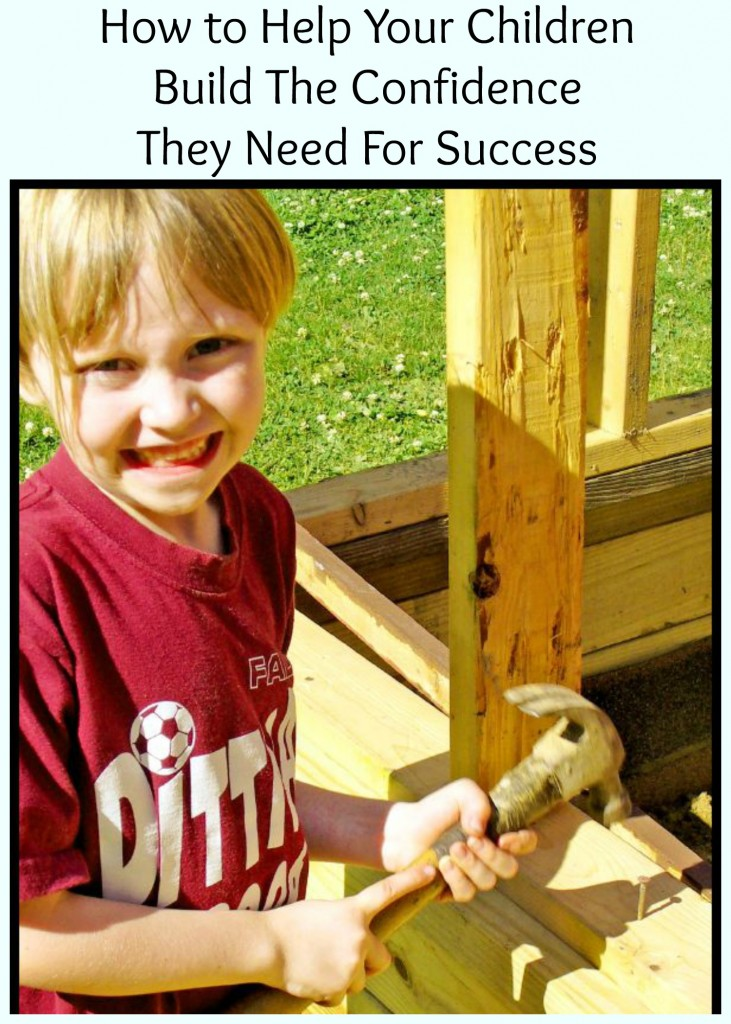 how to build self confidence in a child