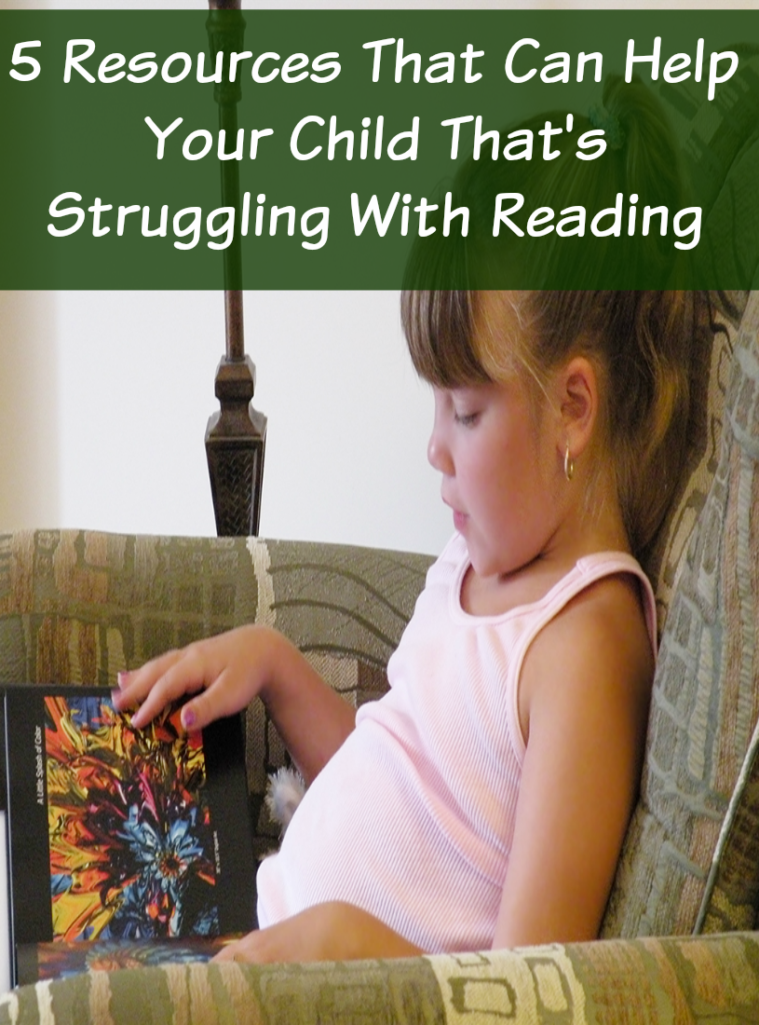 Help Your Child That's Struggling With Reading