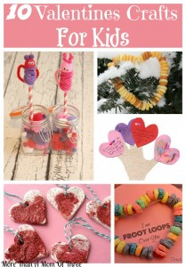 10 Valentines Crafts To Do With Your Kids