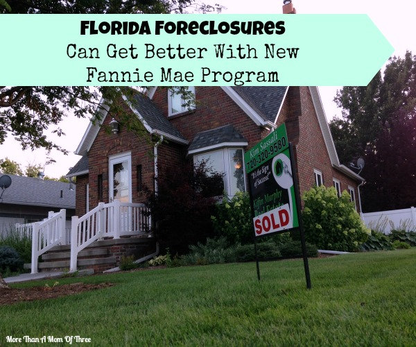 Florida Foreclosures Can Get Better With New Fannie Mae Program
