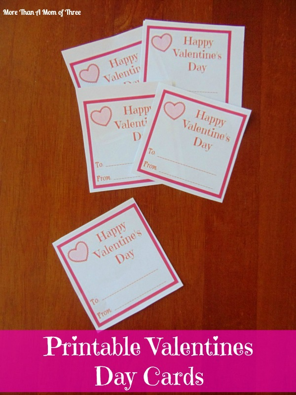 This is a picture of Luscious Printable Valentine Cards for Classmates