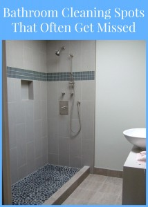 bathroom cleaning spots