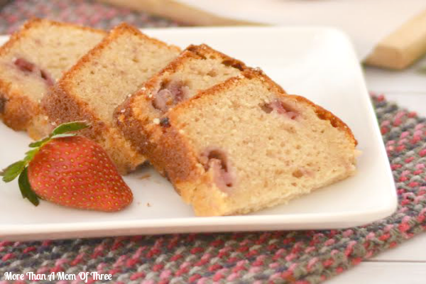 sweet strawberry bread