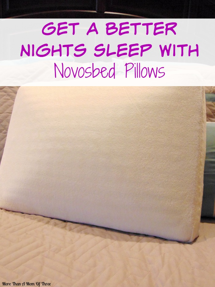 Get a better nights sleep with novosbed pillows The more pillows you sleep with
