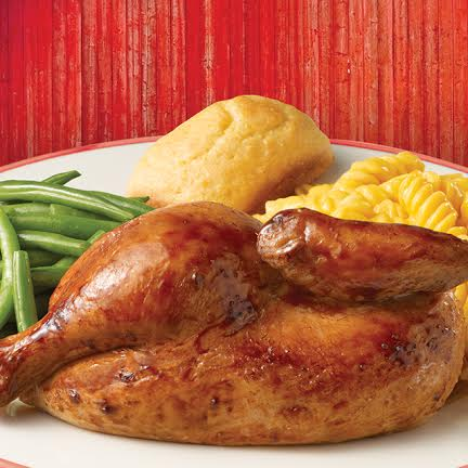 Boston Market chicken