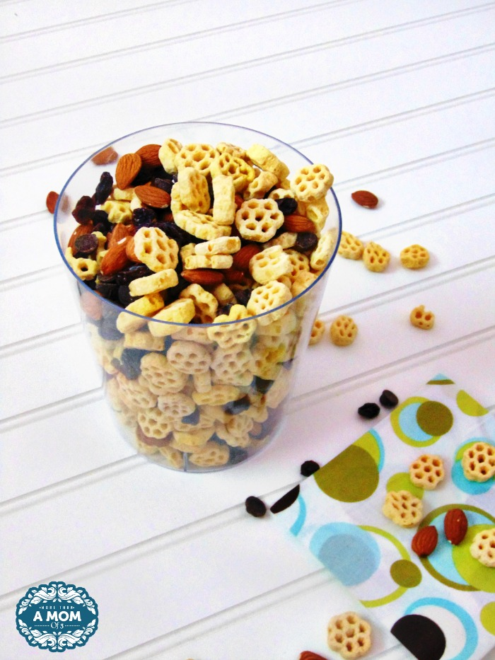 Honeycomb Cereal Party Mix Recipe