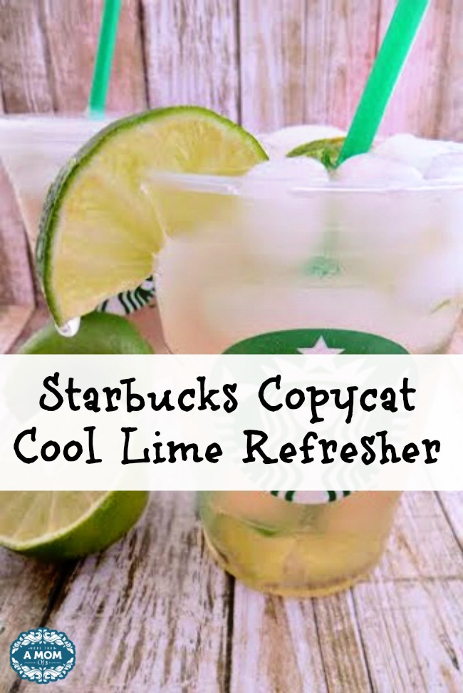 Starbucks Copycat Cool Lime Refresher