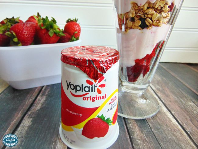yoplait Strawberry Yogurt Parfait
