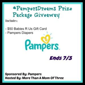 #PampersDreams prize package