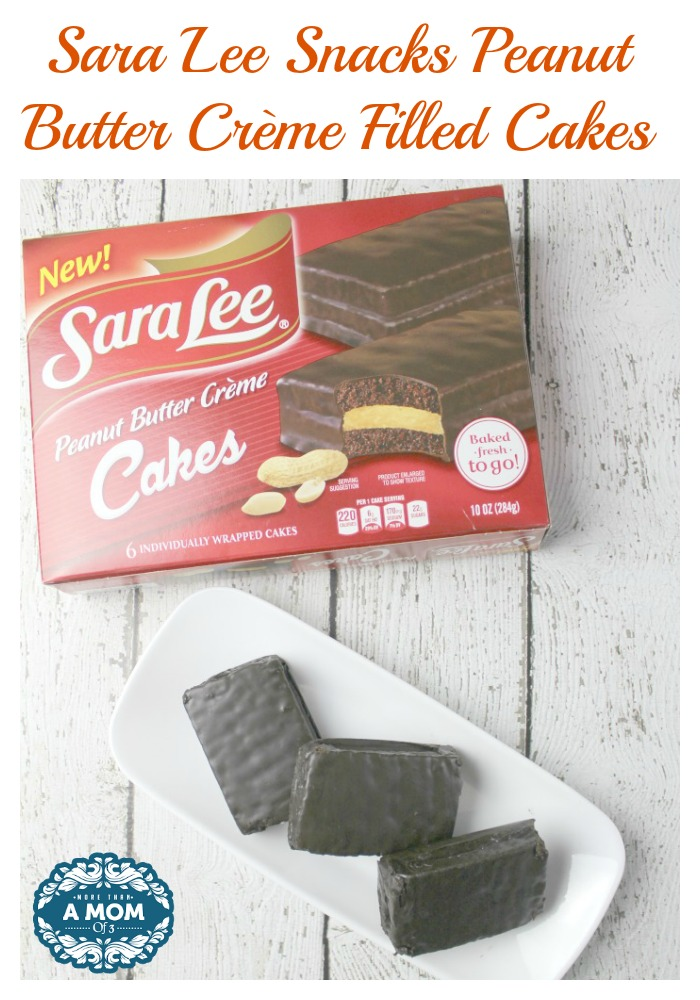 Sara Lee Snacks Peanut Butter Crème Filled Cakes