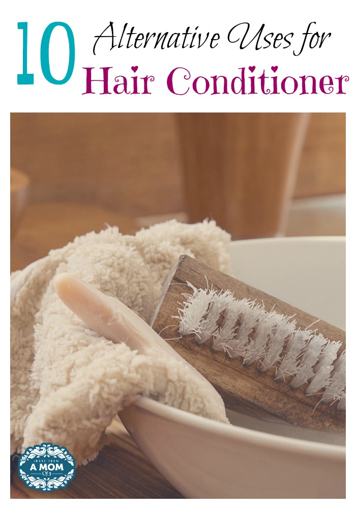 10 Alternative Uses for Hair Conditioner