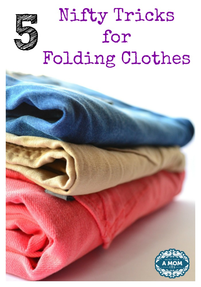 5 Nifty Tricks for Folding Clothes