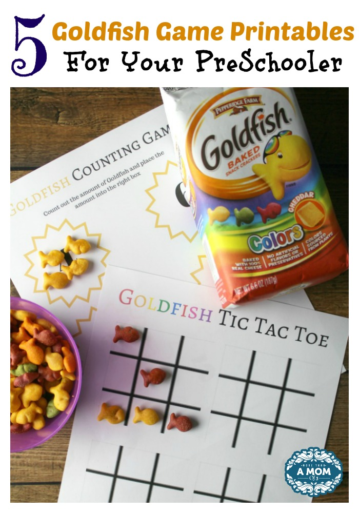 goldfish fun games