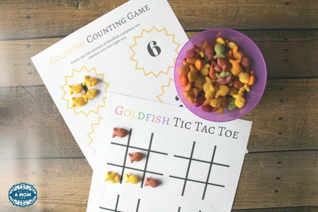 5 Fun Goldfish Game Printables For Your PreSchooler