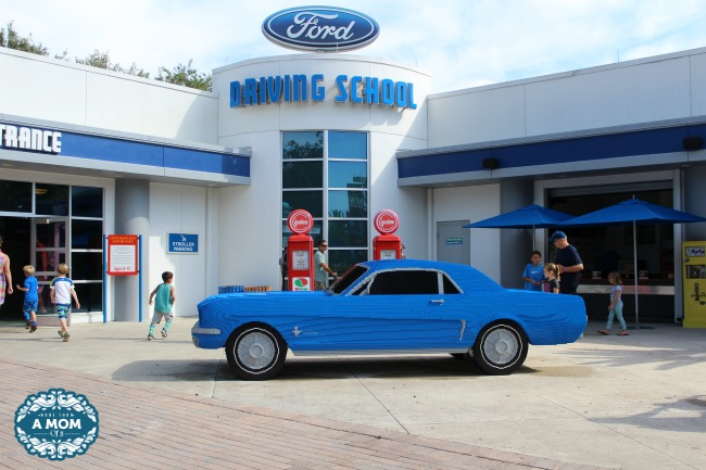 LEGOLAND Florida Creates Life Size Replica Ford Mustang #BrickPony