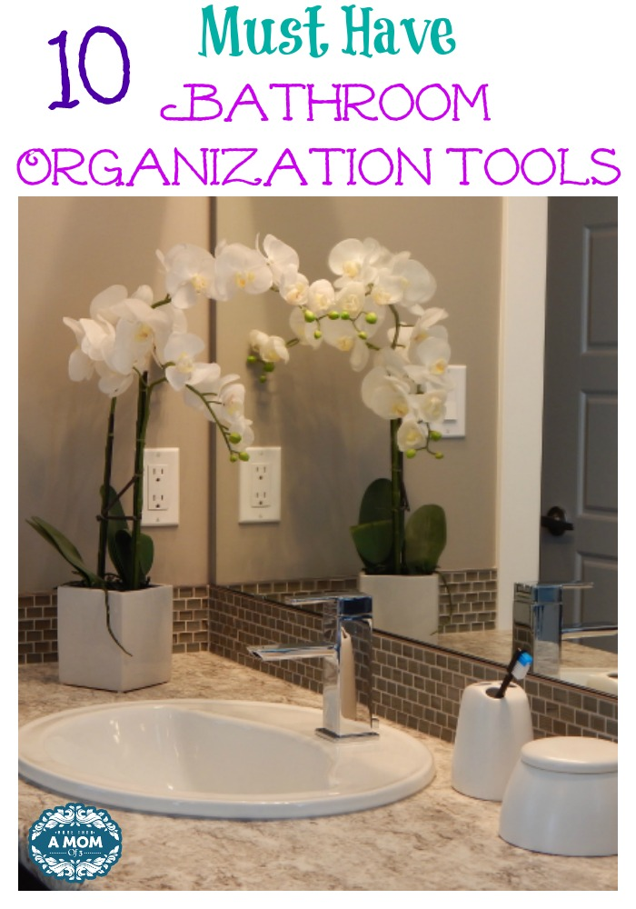10 Must Have Bathroom Organization Tools