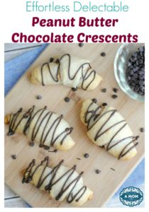 Effortless Delectable Peanut Butter Chocolate Crescents