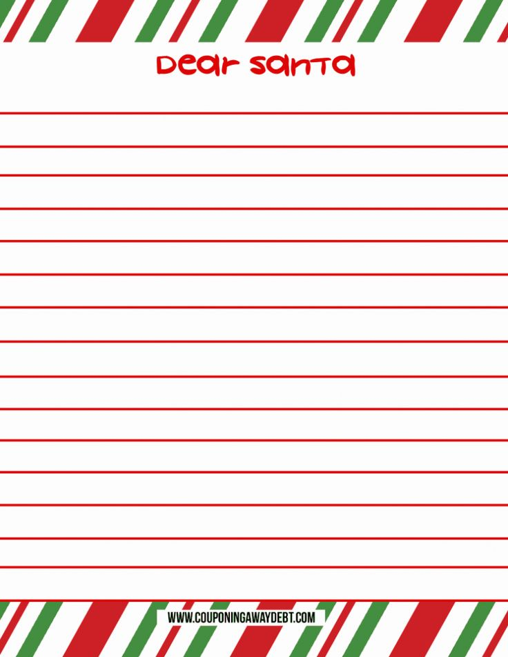 Christmas Letter Template For Free