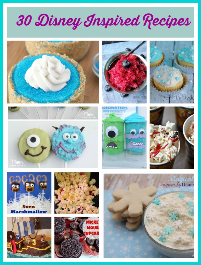 disney inspired recipes