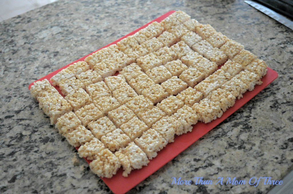 rice crispy treat squares