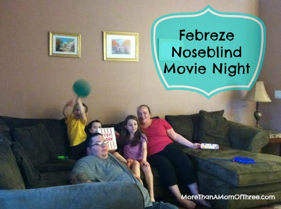 febreze movie night