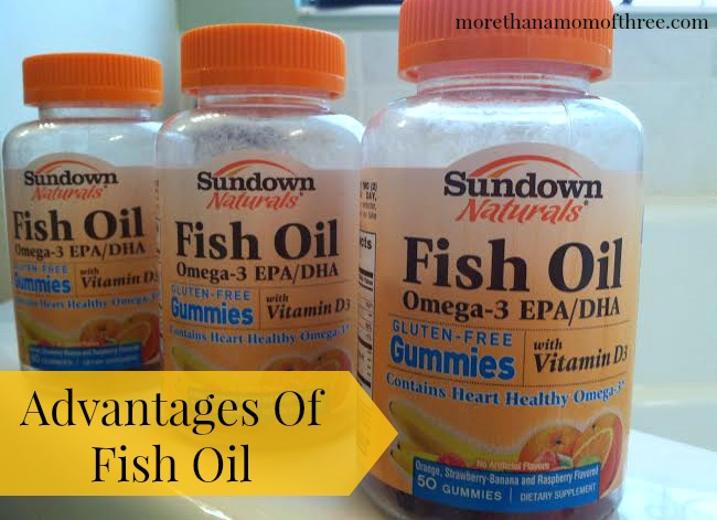Advantages of fish oil sundownnaturalsgummies more than for Advantages of fish oil
