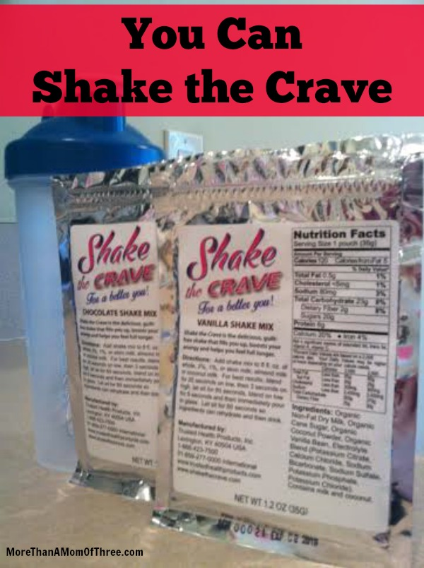 shake the crave