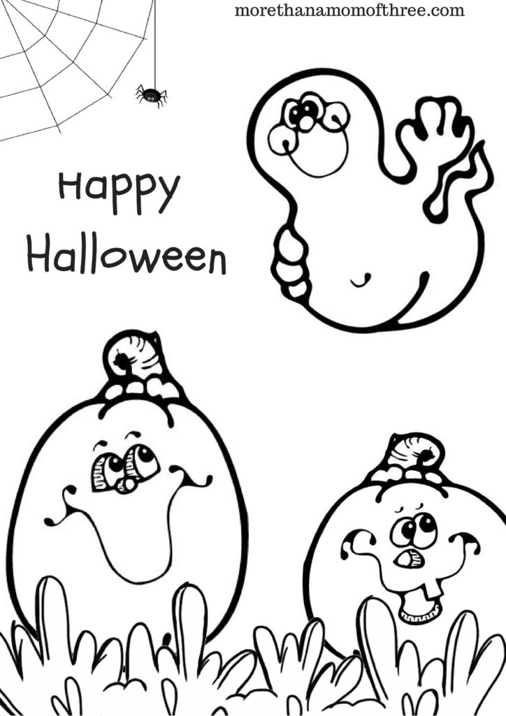 Halloween Printouts Coloring Pages Kindergarten Coloring Pages ... | 1025x724