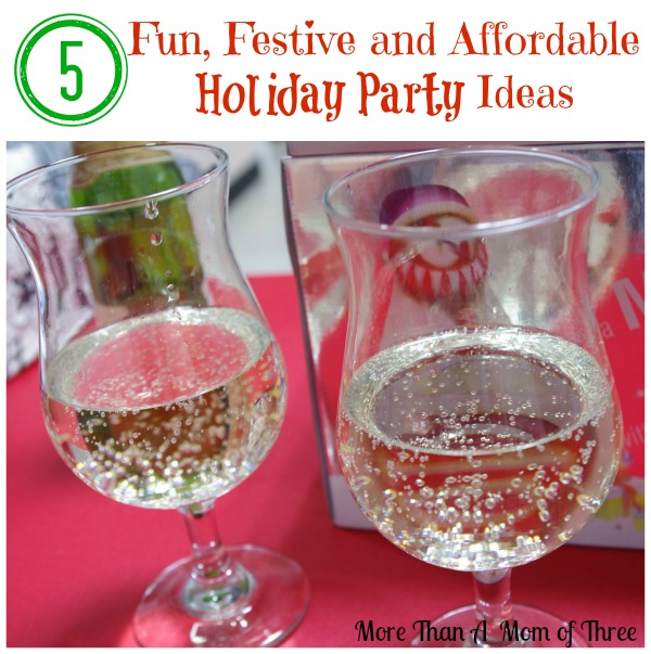 Fun, Festive and Affordable Holiday Party Ideas
