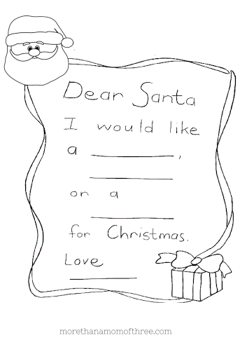 Free Kids Christmas Coloring Pages Printables
