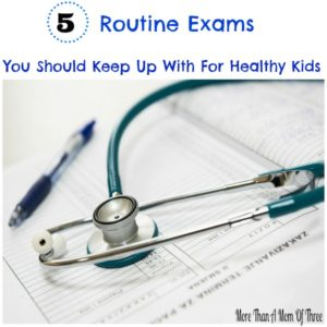 routine exams for kids