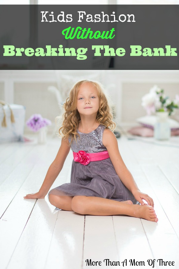 Kids Fashion Without Breaking The Bank