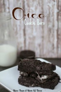 Oreo Cookie Bars