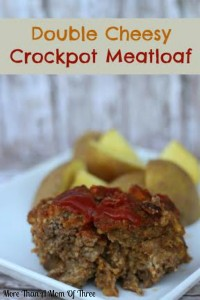 double cheesy crockpot meatloaf
