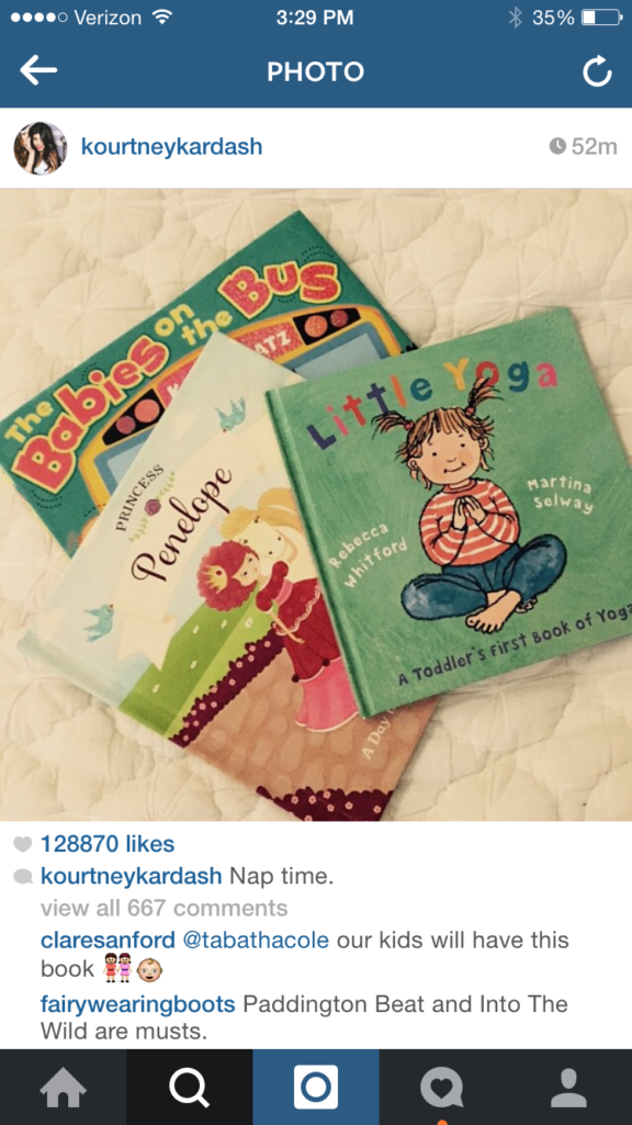 """""""Nap Time"""" photo showing the """"Princess"""" personalized book from ISeeMe!"""
