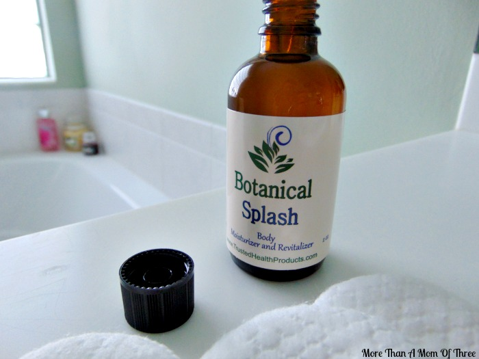 Moisturize With Botanical Splash From Trusted Health Products