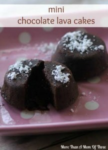 Mini Chocolate Lava Cakes