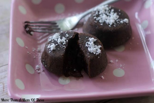 mini lava cakes valentines day