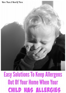 Easy Solutions To Keep Allergens Out Of Your Home If You Have Kids With Asthma Or Allergies