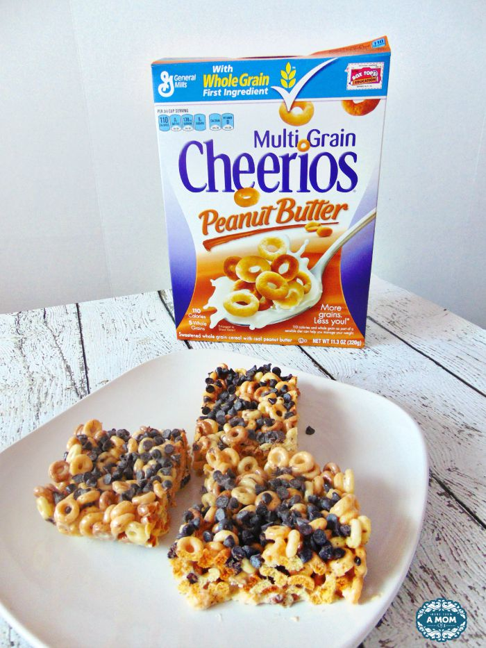 Peanut Butter Cheerios Marshmallow Treat
