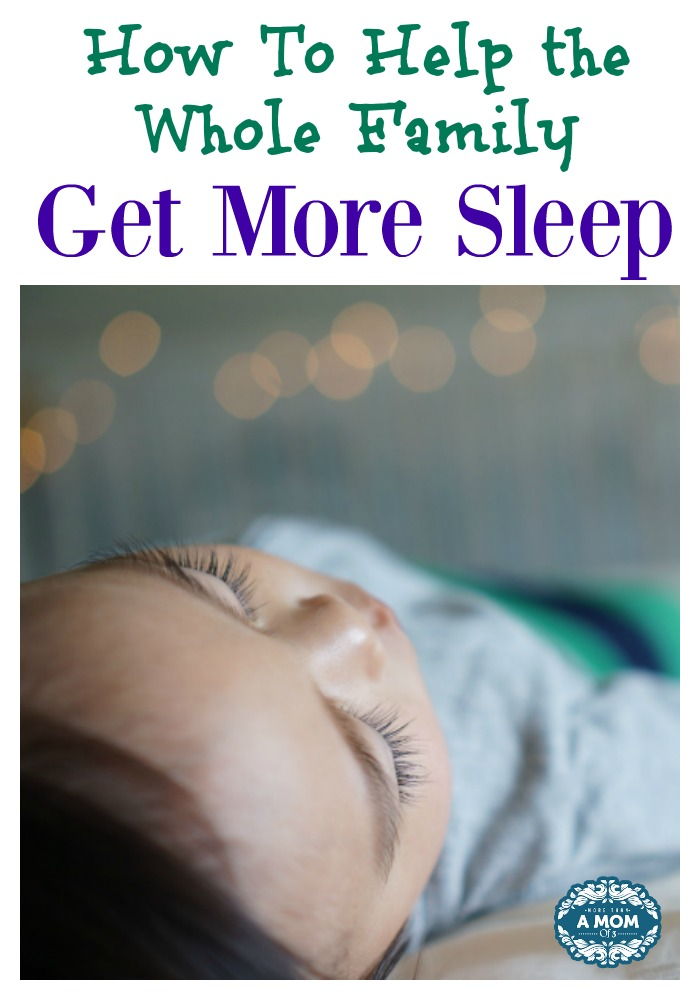 Help the Whole Family Get More Sleep #PampersDreams
