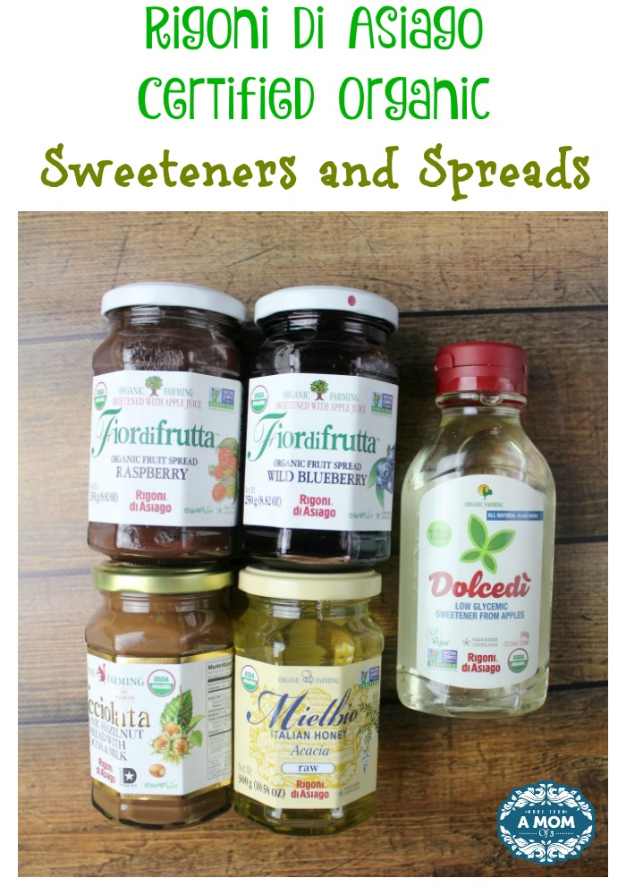 Rigoni Di Asiago Certified Organic Sweeteners and Spreads