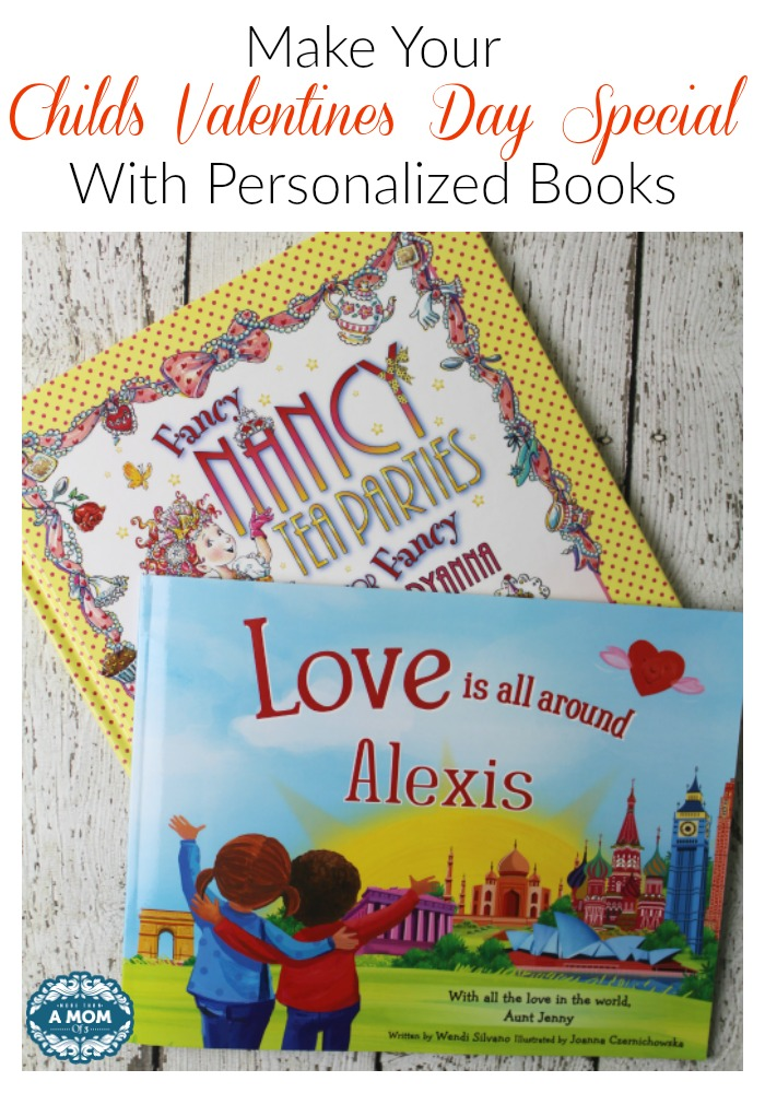 How to Make Your Childs Valentines Day Special With Personalized Books