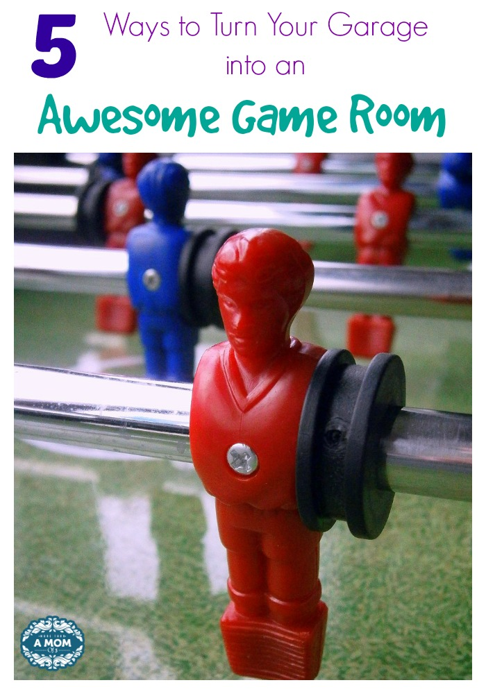 5 Ways to Turn Your Garage into an Awesome Game Room