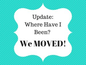 we moved