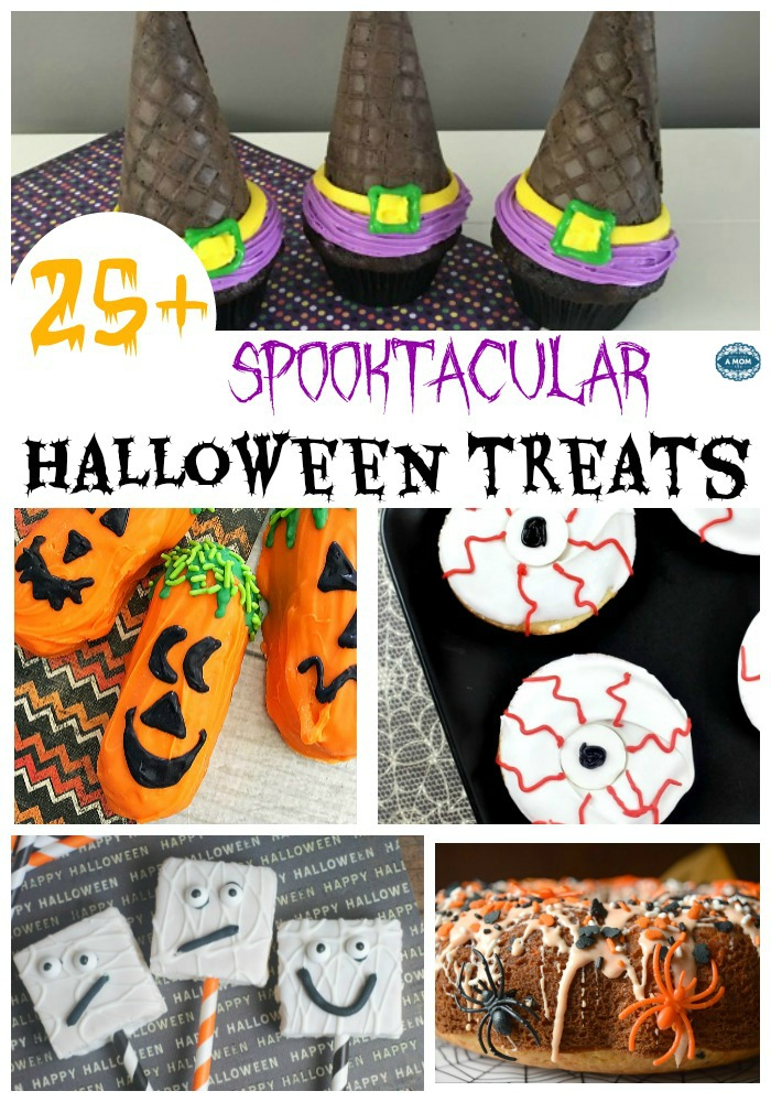 I scoured Pinterest and came up with a nice list of 27 Halloween Sweet treats for you to try this year.